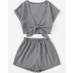 Shorts - Host Pick ⭐️ 7.25.19 Black and White Short Set
